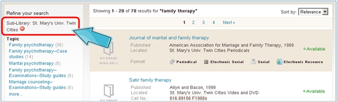 Search Results: Twin Cities Library
